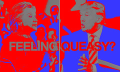 (Eric K.) Tags: hillary trump election blue red queasy vibration