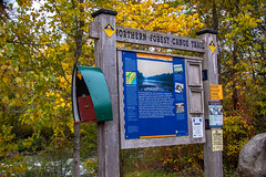 Coos County Road Trip (blackseal35) Tags: 2016 24105l androscogginriver canon canonti1 cooscounty errol fall nh newhampshire northwoods whitemountains c color colorful colors leafpeeping leaves mountains river roadtrip signpost stream trailhead view water woods