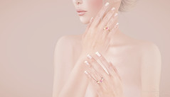 With these rings (Audrey-Paudrey) Tags: ring mesh love gems rosegold diamond pink lovers romance promise