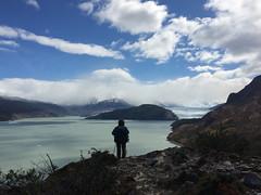 """Torres del Paine: trek du W. Jour 5: retour à Paine Grande. The end ! Le Lago et le Glaciar Grey. <a style=""""margin-left:10px; font-size:0.8em;"""" href=""""http://www.flickr.com/photos/127723101@N04/30266451845/"""" target=""""_blank"""">@flickr</a>"""