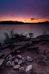 Holly Park Sunset (John Cothron) Tags: 3stopneutraldensityfilter 3stopreversegraduatedfilter 35mmformat 5dmarkii 5d2 5dii 5dmkii americansouth canoneos5dmkii cothronphotography distagon2128ze distagont2821ze dixie gainesville georgia hallcounty hollypark johncothron lakelanier lee90nd leefiltersystem singhray9reversegrad southatlanticstates southernregion thesouth us usa unitedstatesofamerica zeissdistagont21mm28ze cloud cold color digital eveninglight lakeshore landscape longexposure nature rock scenic sky sun sunset windy winter img12777160304 ©johncothron hollyparksunset