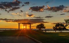 Sunset (wenjiliu) Tags: portdalhousie