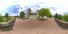 (360x180) Ulm, Germany 10 (Andriy Golovnya (redscorp)) Tags: ulm badenwuerttemberg badenwurttemberg germany oldcity historic landmark architecture building cityscape town city urban panorama equiretangular spherical photosphere 360x180 360 360panorama 360degrees virtualtour tour travel virtualreality vroutside outdors exterior
