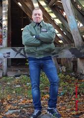 self3105 (Tommy Berlin) Tags: men jeans levis bomberjacke alphajacke