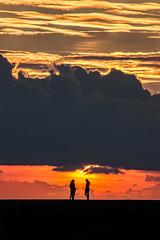 Friends (dannie843) Tags: aberystwyth wales sunset friends