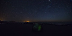 Moeraki Blouder (furbs01 Thanks for 4,150,000 + views) Tags: stars sea beach rocks longexposure moeraki nightshot blouder