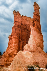Sentinal (Cramer Imaging) Tags: outdoor outdoors nature natural scenic landscape red rock rockformation sky cloud clouds blue brycecanyon brycecanyonnationalpark nationalpark national park utah americansouthwest sentinal