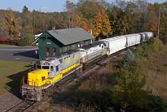 Lehigh Valley 414 (Erie Limited) Tags: delawarelackawanna alco c420 lehighvalley lv414 dl414 crescopa