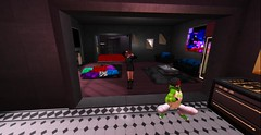 """""""Orrrrr grind the floor too...that's cool"""" (Allie Carpathia) Tags: family love beauty silliness son mother visiting dancing fun secondlife"""