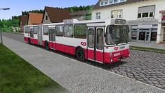 OMSI 2: Mercedes-Benz O 305 G (Bahnbus-mod) CP / MTB (for map Alto da Boa Viagem) - Photo 3 of 4 (O530 Carris PT) Tags: omsi2 mercedesbenz o305g cp caminhos de ferro portugueses mtb boa viagem
