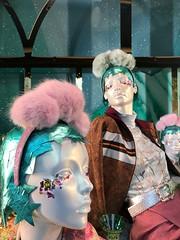 Selfridges Oxford Street Christmas window display (Mark Schofield @ JB Schofield) Tags: mannequin dummy shop window display model christmas london oxford xmas santa selfridges house fraser woman iphone seven plus dual lens depth feature