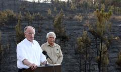 10-27-2016 Wildfire near Dora, No Burn Order in Effect