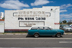 Tottenham (Westographer) Tags: tottenham melbourne australia westernsuburbs suburbia typography signage handpainted parked ford stationwagon