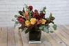 IMG_4809 (Garden Party Flowers) Tags: callalily eucalyptus florist flowers moodyarrangment parrottulips richcolour rose vancouver