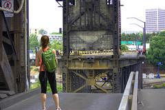 Open Bridge (swong95765) Tags: bridge open people architecture roadway opened