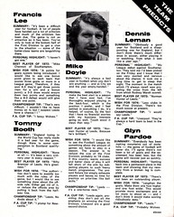 Manchester City vs Stoke City - 1974 - Page 11 (The Sky Strikers) Tags: manchester city stoke maine road 50 years football league first division match magazine 10p
