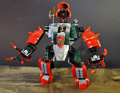 Bear Mech 4 (spencerwinson) Tags: lego toys mech mecha castle