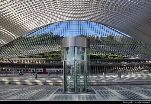 Gare de Liège-Guillemins, Liege, Belgium