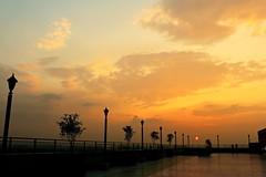 Rooftop Sunset (ainulislam) Tags: sun sunray sunset sunshine sunlight surreal roof rooftop cloud cloudy cloudporn sky skyview skycloud skyscaper golden lights light amazing mes mesmerizing outdoor dhaka dhakagram dhakagraam bangladesh bangla