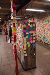 IMG_2218 (neatnessdotcom) Tags: union square subway station postit notes wall tamron 18270mm f3563 di ii vc pzd canon eos rebel t2i 550d