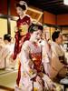 Fidgety Mamekinu (Rekishi no Tabi) Tags: gion gionkobu mamekinu mamefuji maiko apprenticegeisha apprenticegeiko japan kyoto