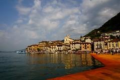 The Floating Piers (Silvia Foglia) Tags: thefloatingpiers floatingpiers orange christo monteisola montisola island lake italy art summer iseo iseolake summertime