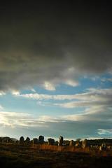 Carnac menhir alignements sunset - atana studio (Anthony SJOURN) Tags: carnac menhir alignements sunset atana studio anthony sjourn