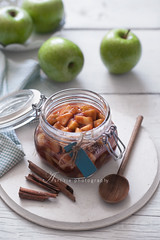 apple pie filling (asri.) Tags: 2016 onwhite homemade fruitsvegetables foodstyling foodphotography 85mmf14