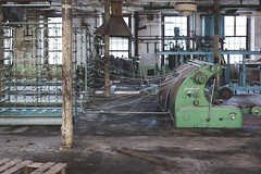 Schlafhorst (GeoVdub) Tags: textile mill abandoned derelict decay urbex exploration indecay industrial loom