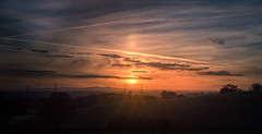'Til The Going Down Of The Same... (dolbinator1000) Tags: sun set sunset twilight light dusk blue gold golden hour sony a58 horizon cloud clouds cloudy hill hills hilly sky