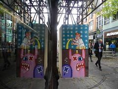 Oxie Alienski (JosDay) Tags: streetart graffiti rotterdam street spiegeling reflections nikoncoolpixp500 coolpixp500
