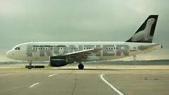 Frontier N949FR - Cincinnati N. Kentucky International (JFeister) Tags: kcvg cvg cincinnati airport kentucky aviation airplane canon frontier n949fr a319