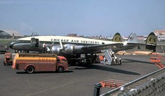 Chicago Midway Airport - Chicago and Southern Airlines - Lockheed Constellation (649A) (twa1049g) Tags: chicago midway airport southern lockheed constellation 1952 n86525