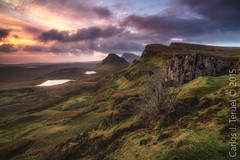 Quiraing (Cuith-Raing) (Carlos J. Teruel) Tags: rock nikonafsnikkor1835mmf3545ged d800e inverso filtros sunrise 1835 skye rocas landscape photography highland gnd isleofskye nikon1835 nubes cloud carlosjteruel nikon cielo naturalbeauty scotland amanecer quiraingcuithraing mountain