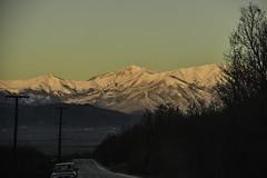 Near to Bansko (alexpapad) Tags: bansko mountain bulgaria road morning sun snow