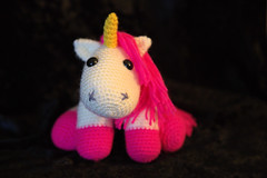 IMG_0932_1 (tinksdarkerside) Tags: project ravelry amigurumi crochet despicable me unicorn agnes