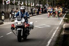 Hamamura Cup Aio Road Race (kurumaebi) Tags: yamaguchi  nikon d750   roadrace   run motorcycle policemotorcycle