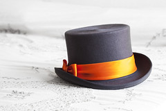 Wedding hat (Brother's Art) Tags: clothing dress elegance fashion illustration wedding accessory background classic dressage elegant formal gentleman gentlemans hat hats isolated magic magician marriage object posh style top vintage wear white