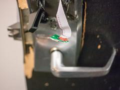 243: Aftermath (JKLsemi) Tags: campus work door doorhandle lock broken batteringram project365 project365243 year7