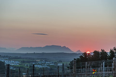 Table Mountain after suset (grobler.inus) Tags: mountain landscape telephoto telephotolandscape distantsubject perspective scene zoom nature photography landscapephotography naturephotography trees clouds sun light moon photo