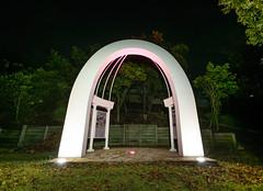 Cloudland Memorial, Brisbane (stephenk1977) Tags: australia queensland qld brisbane cloudland bowenhills dance hall hill memorial arch night nikon d3300 ballroom