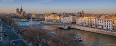 Paname. (sdupimages) Tags: toits notredame fleuve seine laseine aérien panorama paris