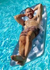 IMG_9954 (danimaniacs) Tags: friends shirtless man hot sexy guy smile beard muscle muscular hunk swimmingpool stud scruff mansolo