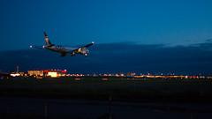 Boeing 777-300ER Air France SkyTeam (Bo No Bo) Tags: city light summer urban rose night plane airplane outdoors airport montréal lumière aircraft aeroplane québec boeing été soir 777 runway extérieur ville dorval avion airfrance piste yul urbain boeing777 aéroport 24d boeing777300 777300 24r 777300er cyul skyteam twinjet biréacteur b773 rayane boeing777300er aéroportinternationalpierreelliotttrudeaudemontréal d7100 24right runway24right af348 fgznn 24droite piste24droite afr348