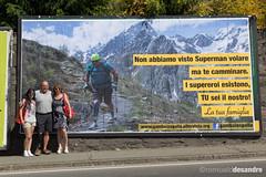 Un cartellone a sorpresa! (gambainspalla) Tags: francis manifesto disability cartellone 6x3 inail disabilità desandre diversabilità gambainspalla