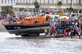 RNLI Life Boat Mersey Class 12-006