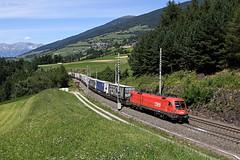 1116 263 / 31.07.15 (Schumny) Tags: austria österreich am pass brenner siemens taurus bahn brennero matrei 1116