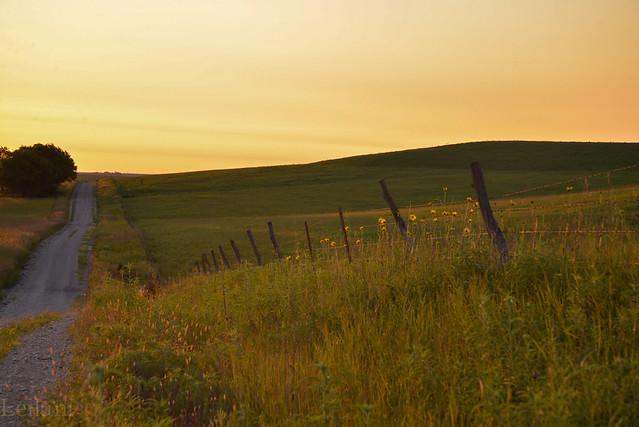 Flint Hills fence image