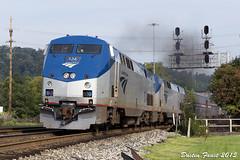 Amtrak P030 Virginia Ave (DFaustAltoona) Tags: 124 capitol amtrak limited cumberland amtk p030