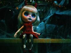 Spiders are coming........... #love #blythe #customblythe #doll #ブライス #カスタムブライス #人形